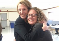 Zephyr Teachout and Elizabeth Spinzia